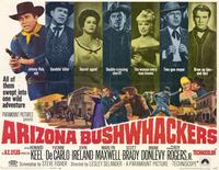 Arizona Bushwhackers - 11 x 14 Movie Poster - Style A