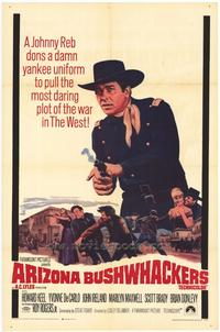 Arizona Bushwhackers - 27 x 40 Movie Poster - Style A