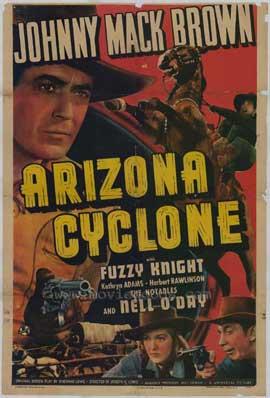 Arizona Cyclone - 11 x 17 Movie Poster - Style A
