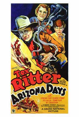 Arizona Days - 27 x 40 Movie Poster - Style A