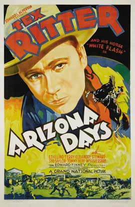 Arizona Days - 11 x 17 Movie Poster - Style B