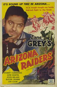 Arizona Raiders - 11 x 17 Movie Poster - Style A