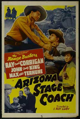 Arizona Stage Coach - 27 x 40 Movie Poster - Style A