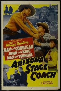 Arizona Stage Coach - 43 x 62 Movie Poster - Bus Shelter Style A