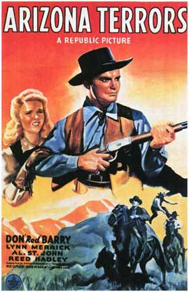 Arizona Terrors - 11 x 17 Movie Poster - Style A