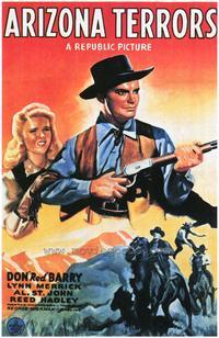 Arizona Terrors - 27 x 40 Movie Poster - Style A