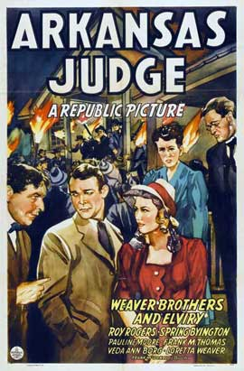 Arkansas Judge - 11 x 17 Movie Poster - Style A