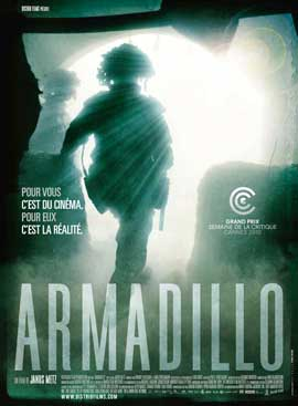 Armadillo - 11 x 17 Movie Poster - French Style A