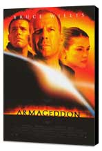 Armageddon - 27 x 40 Movie Poster - Style C - Museum Wrapped Canvas