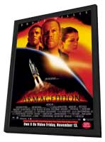 Armageddon - 11 x 17 Movie Poster - Style B - in Deluxe Wood Frame