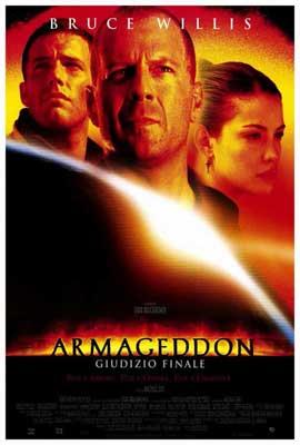 Armageddon - 27 x 40 Movie Poster - Italian Style A