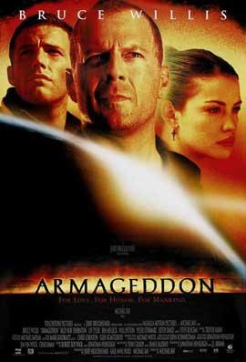 Armageddon - 27 x 40 Movie Poster - Style E