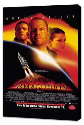 Armageddon - 22 x 35 Movie Poster - Style A - Museum Wrapped Canvas