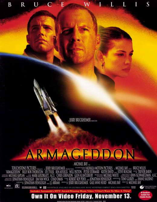 Armageddon Movie Posters From Movie Poster Shop