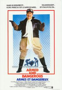 Armed and Dangerous - 11 x 17 Movie Poster - Belgian Style B