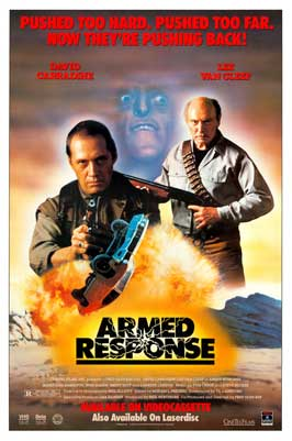 Armed Response - 11 x 17 Movie Poster - Style B