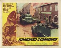 Armored Command - 11 x 14 Movie Poster - Style F