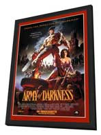 Army of Darkness - 11 x 17 Movie Poster - Style C - in Deluxe Wood Frame