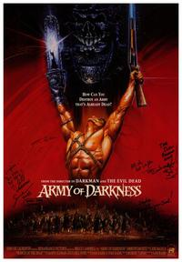 Army of Darkness - 43 x 62 Movie Poster - Bus Shelter Style A