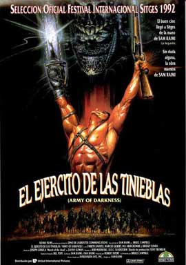 Army of Darkness - 11 x 17 Movie Poster - Spanish Style A