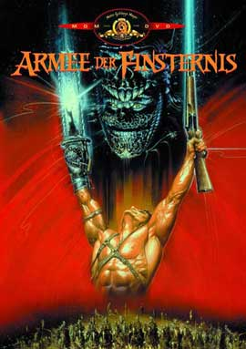 Army of Darkness - 27 x 40 Movie Poster - German Style A