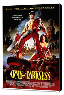 Army of Darkness - 11 x 17 Movie Poster - Style A - Museum Wrapped Canvas
