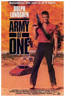 Army of One - 27 x 40 Movie Poster - Style A