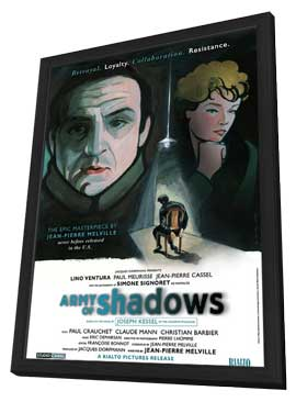 Army of Shadows - 11 x 17 Movie Poster - Style A - in Deluxe Wood Frame