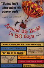 Around the World in 80 Days - 11 x 17 Movie Poster - Style B