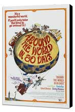 Around the World in 80 Days - 11 x 17 Movie Poster - Style C - Museum Wrapped Canvas