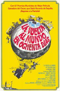 Around the World in 80 Days - 11 x 17 Movie Poster - Spanish Style A