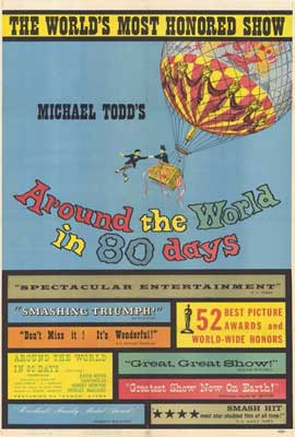 Around the World in 80 Days - 27 x 40 Movie Poster - Style A
