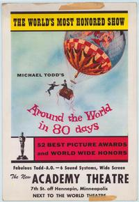 Around the World in 80 Days - 11 x 17 Movie Poster - Style A