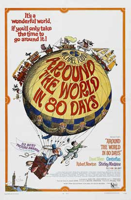 Around the World in 80 Days - 27 x 40 Movie Poster - Style C