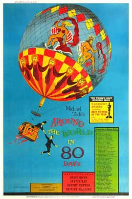 Around the World in 80 Days - 11 x 17 Movie Poster - Style D