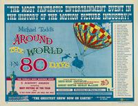 Around the World in 80 Days - 11 x 14 Movie Poster - Style A