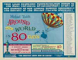 Around the World in 80 Days - 22 x 28 Movie Poster - Style A