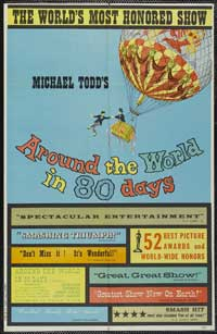 Around the World in 80 Days - 43 x 62 Movie Poster - Bus Shelter Style C