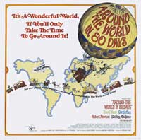 Around the World in 80 Days - 40 x 40 - Movie Poster - Style A