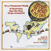 Around the World in 80 Days - 30 x 30 Movie Poster - Style A