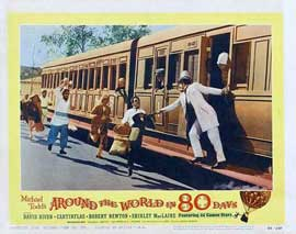 Around the World in 80 Days - 11 x 14 Movie Poster - Style E