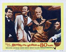 Around the World in 80 Days - 11 x 14 Movie Poster - Style F