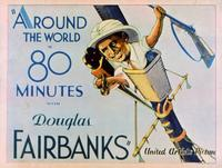 Around the World in 80 Minutes with Douglas Fairbanks - 11 x 14 Movie Poster - Style A