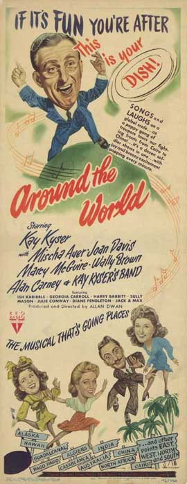 Around the World - 11 x 17 Movie Poster - Style A