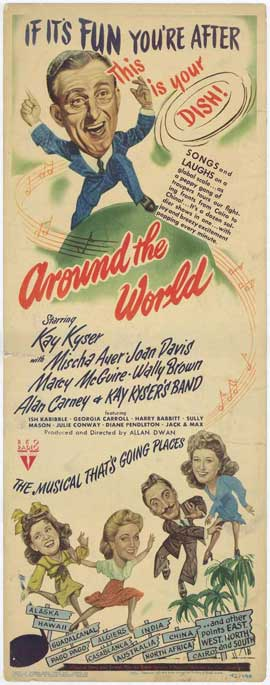 Around the World - 27 x 40 Movie Poster - Style A