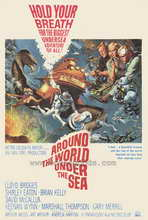 Around the World Under the Sea - 27 x 40 Movie Poster - Style A
