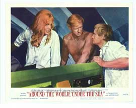 Around the World Under the Sea - 11 x 14 Movie Poster - Style B