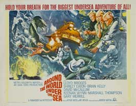 Around the World Under the Sea - 11 x 14 Movie Poster - Style A