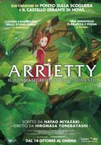 Arrietty - 27 x 40 Movie Poster - Italian Style A