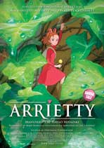 Arrietty - 11 x 17 Movie Poster - Danish Style A